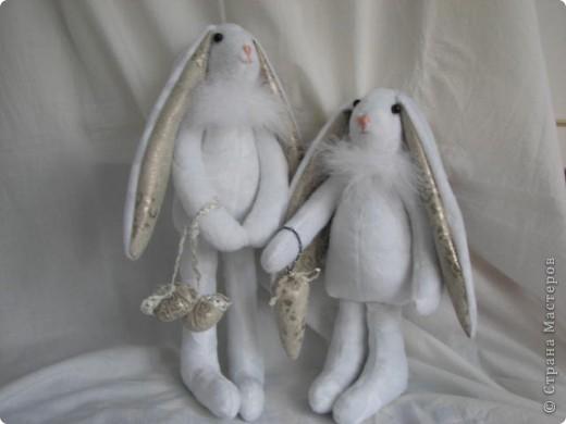 Рождественские кролики фото 1