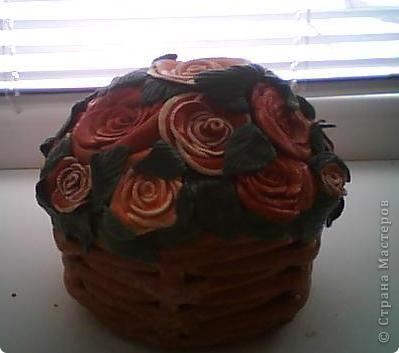 Корзина роз...