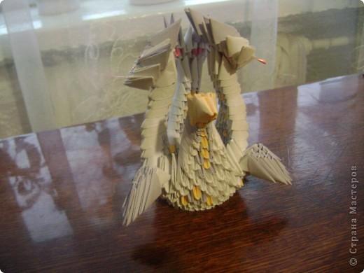 А у меня вот такой получился Змей- Горыныч! фото 2