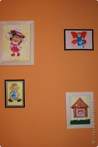 сказочными и мультяшными героями оформила десткую...нас четверо в семье,и каждый персонаж каким-то образом отображает каждого из нас))) фото 1