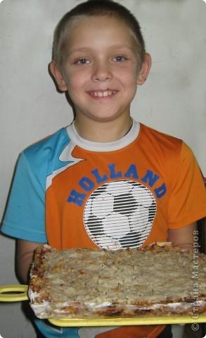Это болгарский пирог без замеса теста.ясделал его по рецепту Partizanka http://stranamasterov.ru/node/112538 Спасибо за рецепт! фото 1