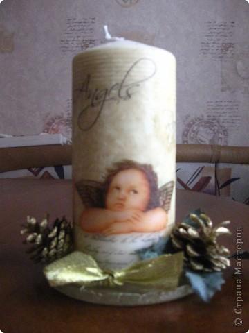 Первая свечечка фото 1