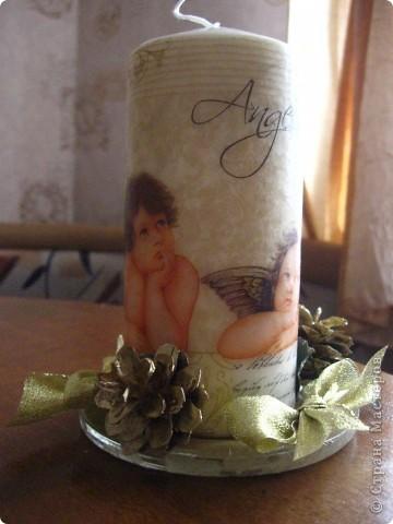 Первая свечечка фото 2