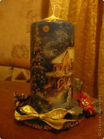 Первая свечечка фото 3