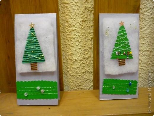 Вот такие открыточки сделали мои мастерицы. фото 2