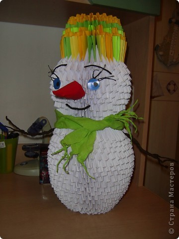 Снеговик- франт  фото 6