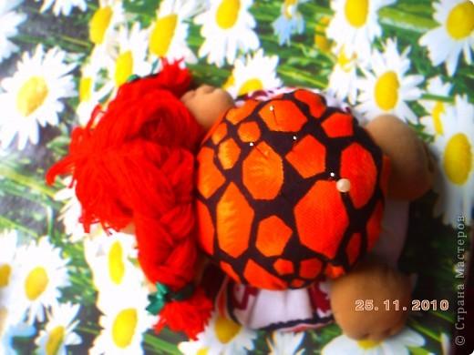 Первая проба с шить что то нужное и  веселое. Правда немного низко пришила голову . фото 3