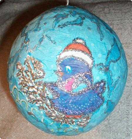 Новогодние шары фото 5