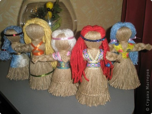 Веревочные куклы - оберег фото 1