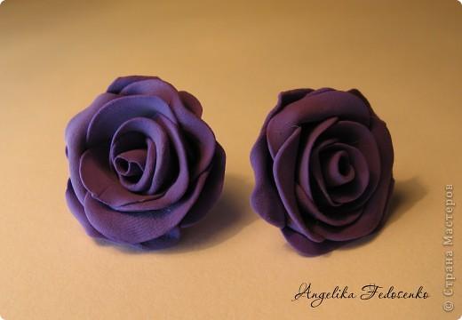 """Серьги """"Розы"""" фото 2"""