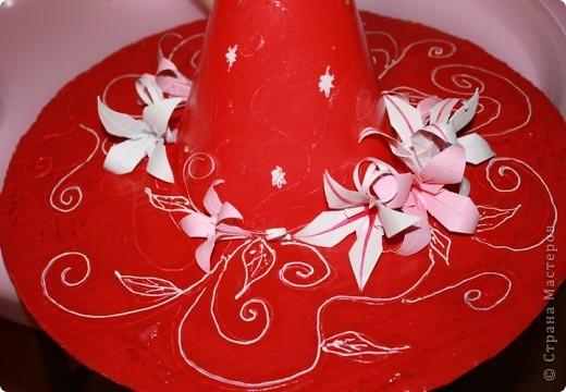 Моя маленькая волшебница. Хотя шляпа делалась для старшей дочери к новогодней ёлке. фото 3