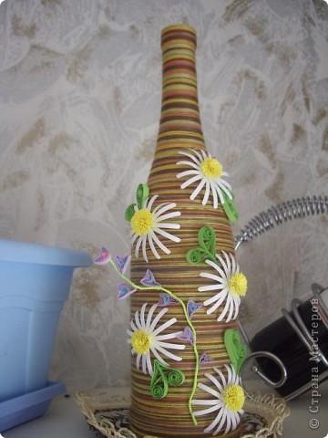 Квиллинговая бутылочка
