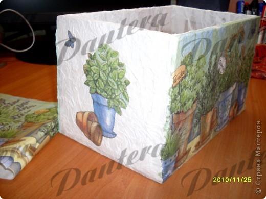 Давно собиралась сделать коробочку для хранения пакетиков со специями. фото 6