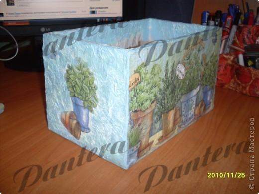 Давно собиралась сделать коробочку для хранения пакетиков со специями. фото 7