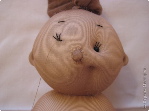 Меня часто спрашивают, как я  шью таких пупсов. Все время давала ссылку на японские журналы, а вот теперь появилась возможность сделать мастер-класс. В детском саду заказали таких куколок  в подарок девочкам. фото 25