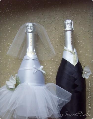 Свадебные бутылочки фото 2