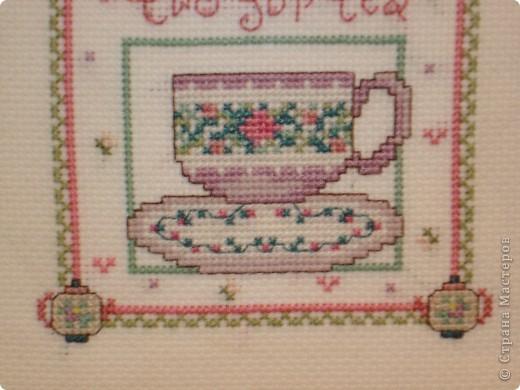 """Схемка была в """"Вышиваю крестиком"""". Милая кухонная картиночка сразу мне понравилась. Вышивается легко и быстро! фото 2"""