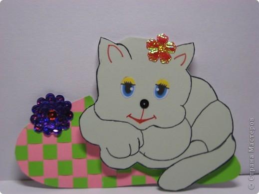 Впереди год кота - вот ВАМ И  ОТКРЫТКА. фото 1