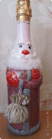 "Бутылочка ""Дед Мороз"" фото 3"