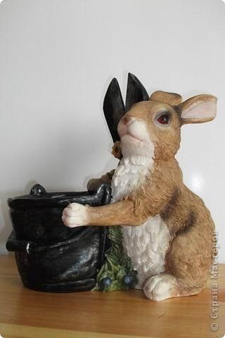 Цветочная елочка для зайчика. фото 2