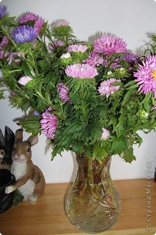 Цветочная елочка для зайчика. фото 4