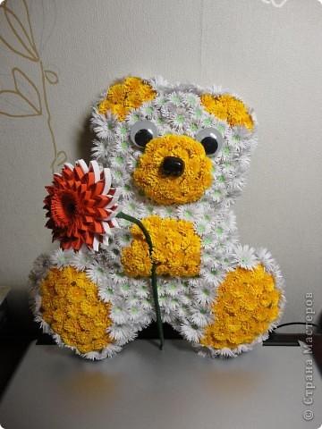 цветочный мишка фото 2