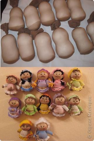 Куклы Мастер-класс Шитьё Радужные пупсы Капрон Тесьма шнур фото 60