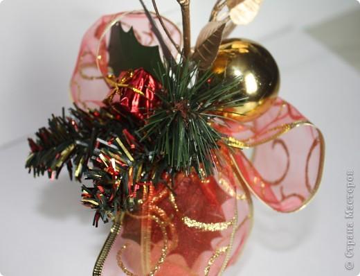 Вот такие мини букеты изготовила в подарок к Новому году. фото 3