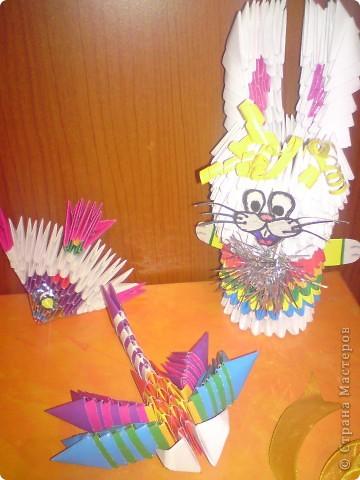 Первые мои работы в модульном оригами) фото 1