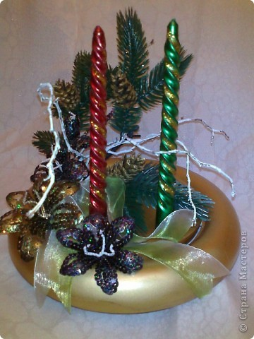 Новогодняя икебана. фото 1