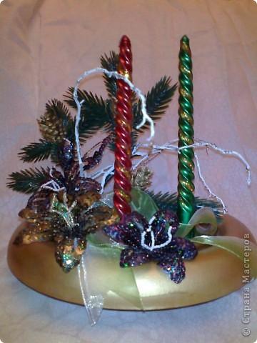 Новогодняя икебана. фото 2