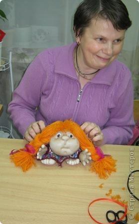 Шьем куклу на удачу. фото 3