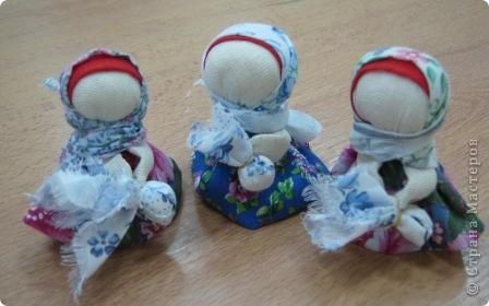 Шьем куклу на удачу. фото 8