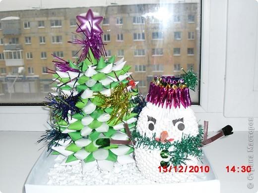 Наш снеговичок фото 3