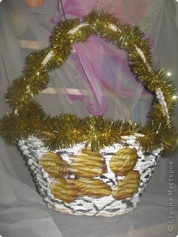 Новогодняя корзина. фото 1