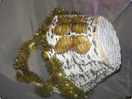 Новогодняя корзина. фото 3