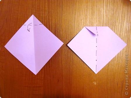 """15 декабря в нашей школе будет проходить семинар, где я должна буду показать МК на тему """"Изготовление открытки с элементами оригами"""".  Вот такую открыточку я изобрела. фото 11"""