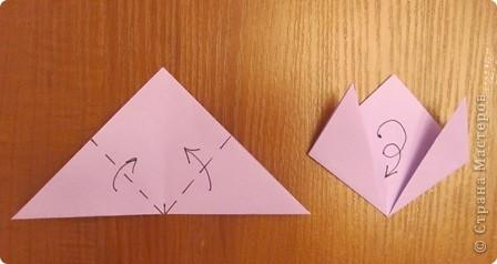"""15 декабря в нашей школе будет проходить семинар, где я должна буду показать МК на тему """"Изготовление открытки с элементами оригами"""".  Вот такую открыточку я изобрела. фото 9"""