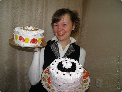 Вот такие тортики были у меня на дне рождения:) фото 1