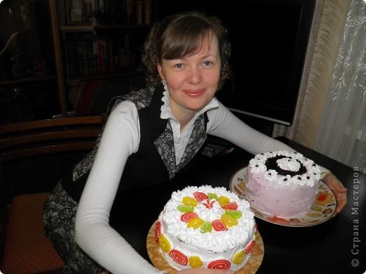 Вот такие тортики были у меня на дне рождения:) фото 4