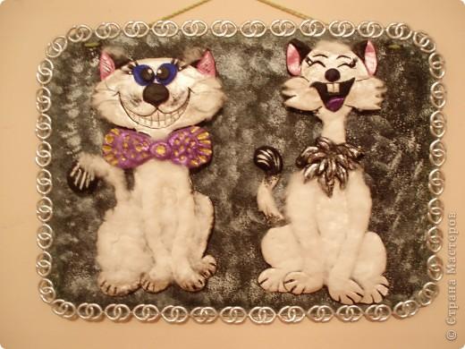 Добавила им еще рамочку (из картона - покрасила, декорировала тесьмой) фото 1