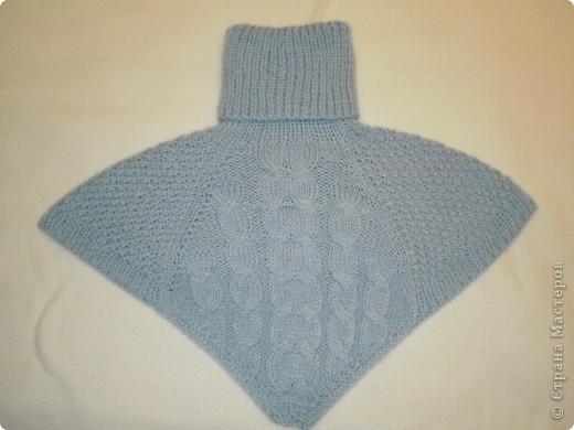 Так свитер виглядит целиком...связан спицами... фото 5