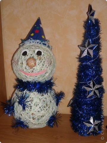 Вот такой вот снеговик получился у меня!!!))) фото 1