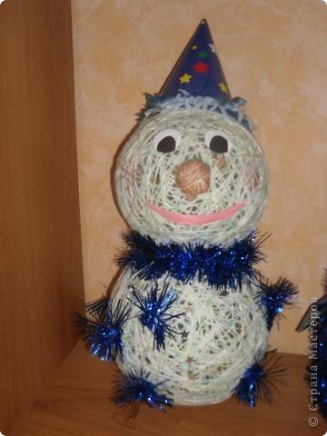 Вот такой вот снеговик получился у меня!!!))) фото 2