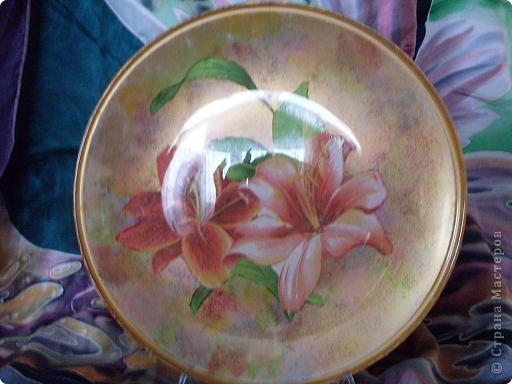 Тарелочка Лилия фото 2