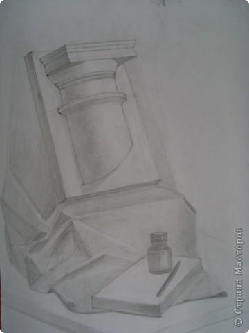 рисунок. карандаш. моя работа 2009 год