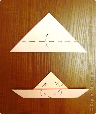 """15 декабря в нашей школе будет проходить семинар, где я должна буду показать МК на тему """"Изготовление открытки с элементами оригами"""".  Вот такую открыточку я изобрела. фото 4"""