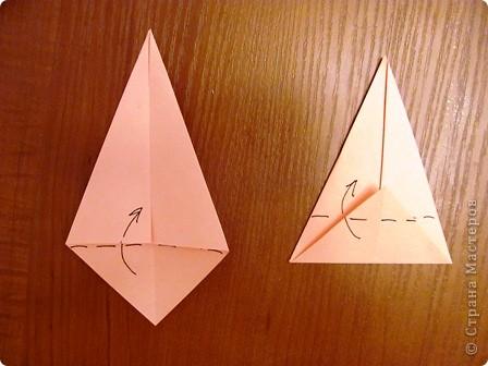 """15 декабря в нашей школе будет проходить семинар, где я должна буду показать МК на тему """"Изготовление открытки с элементами оригами"""".  Вот такую открыточку я изобрела. фото 6"""