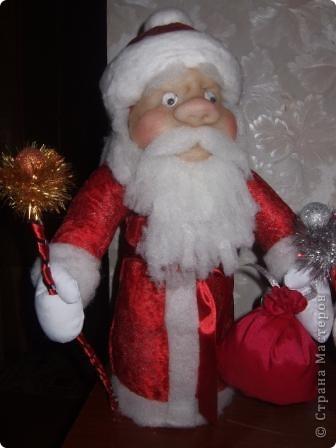 Дед Мороз подружки Лены - слева,  мой -справа. фото 2