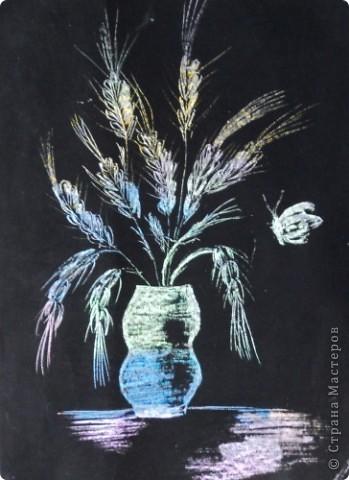 Колоски в вазе